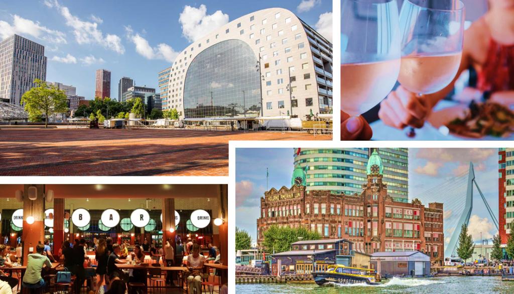 Rotterdam beschikt over vele moderne, hippe en smakelijke eetgelegenheden waar je tijdens een zakenreis in Rotterdam terrecht kan.