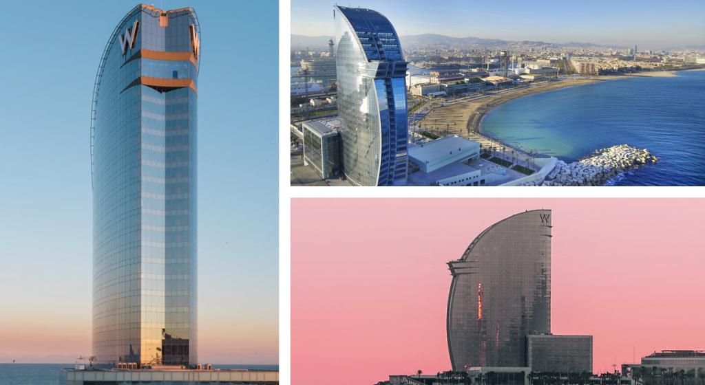 Het W Hotel is een werkelijk WOW-hotel om te overnachten tijdens jouw businesstrip naar Barcelona.