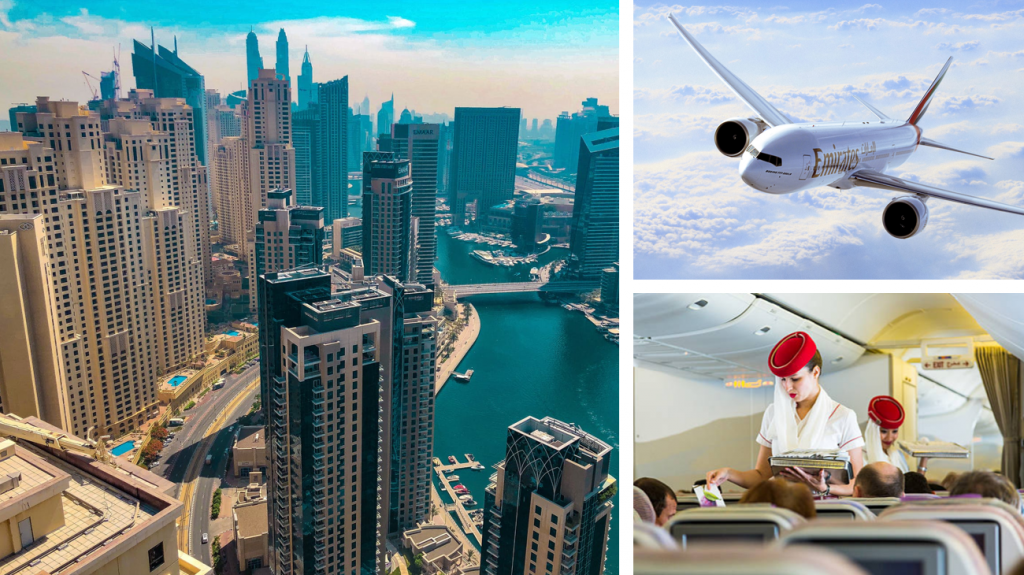 Ervaar ongekende luxe met Emirates tijdens jouw zakenreis.