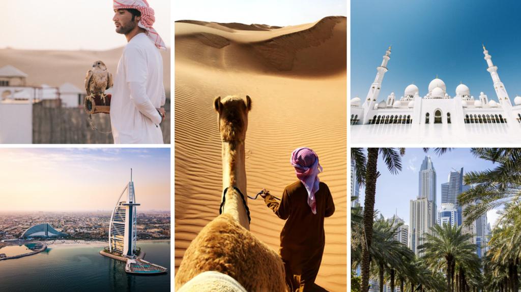 Ontdek de woestijn en de wonderschone stad tijdens jouw zakenreis naar Dubai.