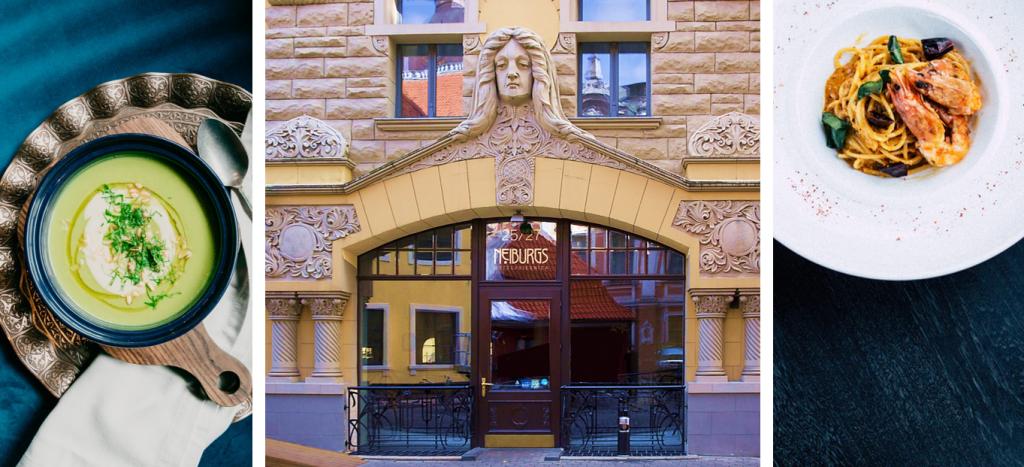 Neiburgs: een geweldige, culinaire locatie om te lunchen of dineren tijdens uw zakenreis in Riga.